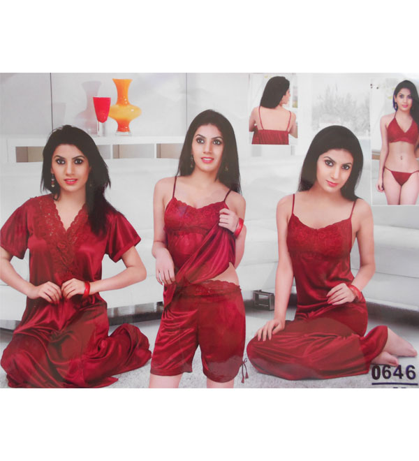 Night Suits  0646 Set of 6 piece - Buy Women Lingerie in India ... b732505a5