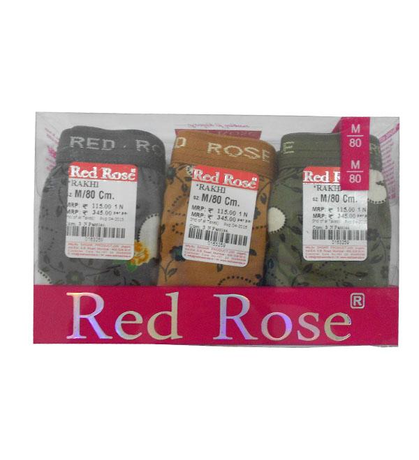 e66bed82b952 Red Rose Panty #Rakhi (pack of 3) - Buy Women's inner wear online in ...
