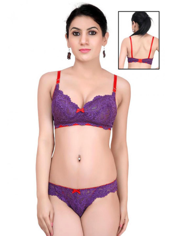 6d1b1cb6ee Softy Bra Panty Set-Romantic 2 - Buy Women Lingerie in India